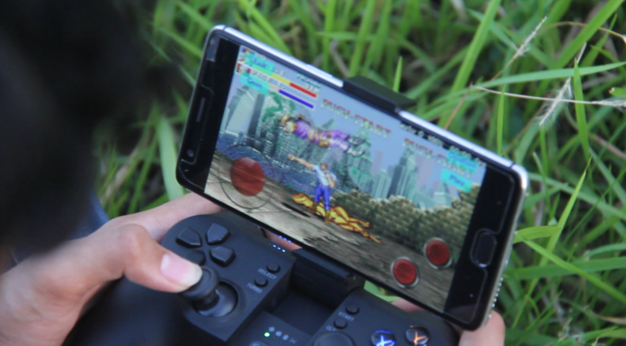 GameSir T1s Android Game performace Test with Cadillac & Dinosaur