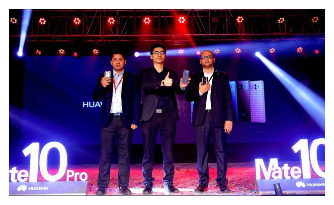 Huawei Launched Mate 10 Pro Officially