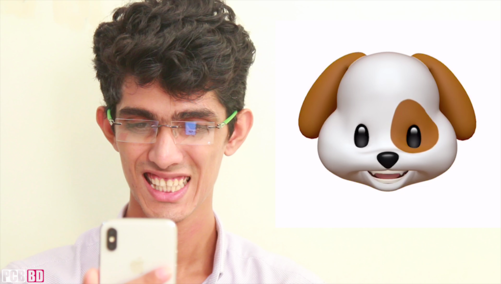 Animoji feature on iPhone X