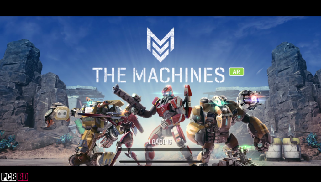AR Game The Machines