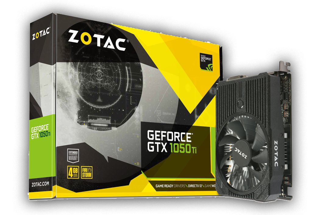 Zotac Gtx 1050ti Graphics Card