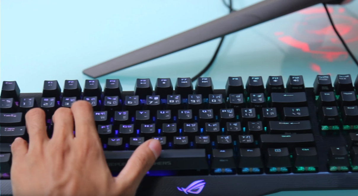ASUS Claymore keyboard
