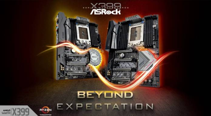 ASRock Threadrippar at CES 2018