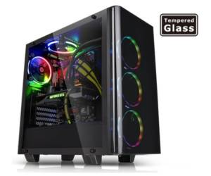 thermaltake view 21 tempered glass casing