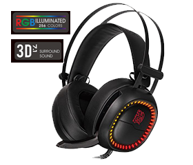 Thermaltake Shock Pro RGB Headsets at CES 2018