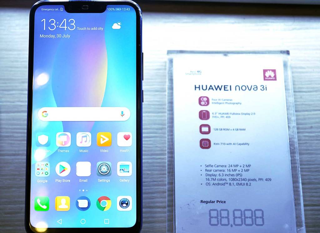 Huawei Nova 3i Specifications in Bangladesh