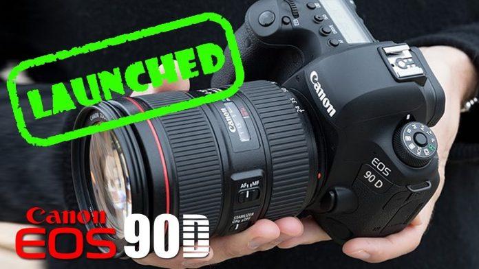 Canon 90D Camera 4K