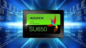 ADATA SU 650 120GB SSD IMAGE