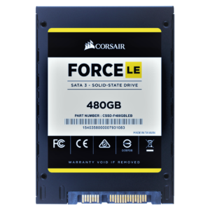 Corsair's Force LE 480GB SATA III SSD Price in bd