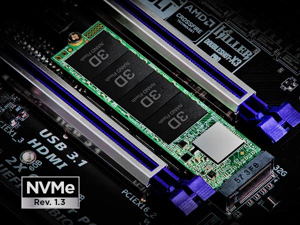 Transcend 110s M.2 PCIe NVM SSD BD