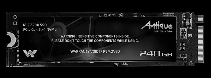 waltonWSD2280X4240 240GB M.2 NVMe SSD