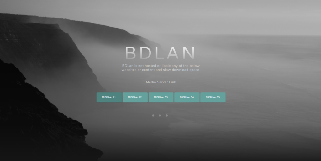 BDLan FTP server website url