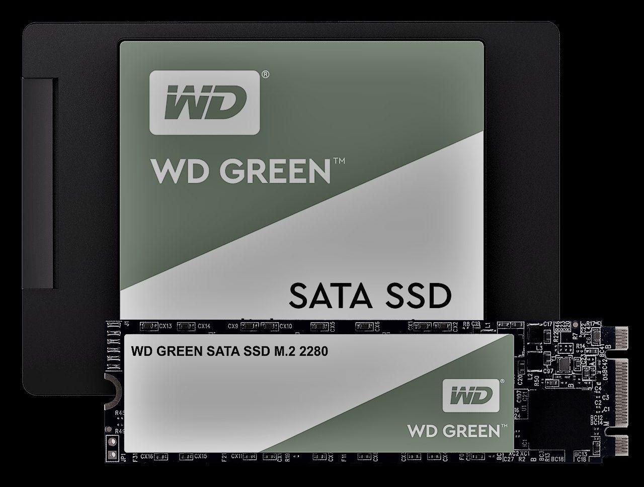 Western Digital green 480gb M.2 SSD