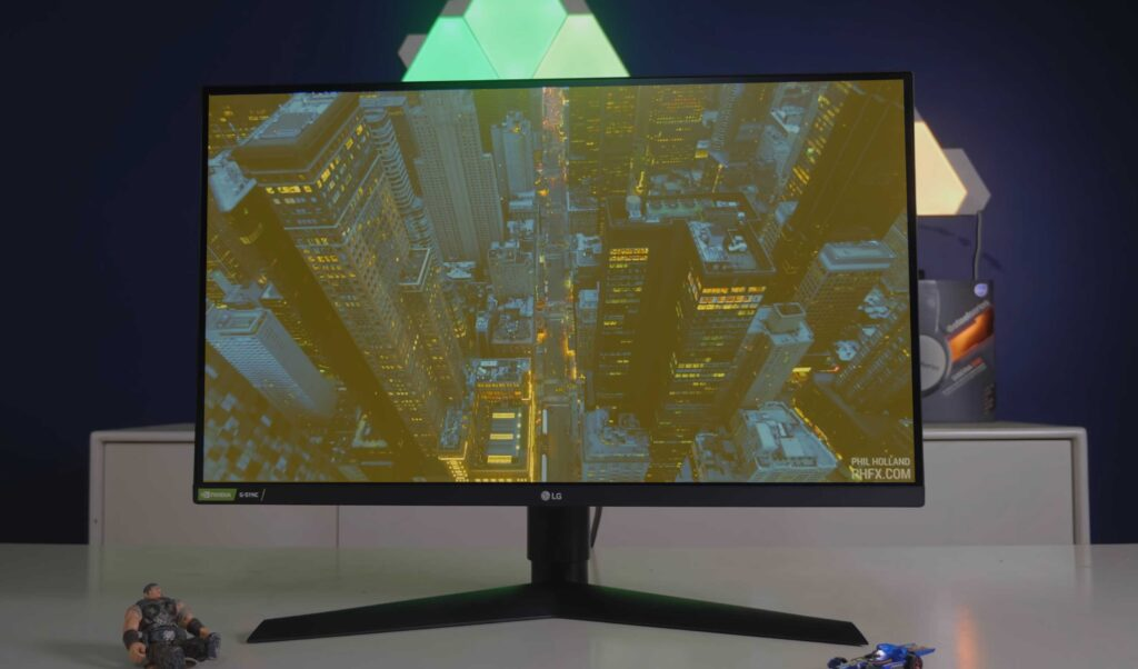 LG 27gl850 Gaming Monitor yellow screen windows 10